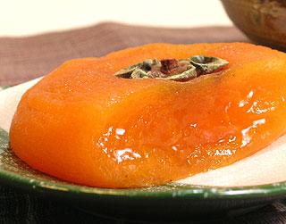 乾燥後 平核無柿 あんぽ柿