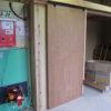 ユーザー様作成乾燥室に熱風発生機を取付た例1