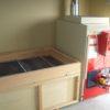 ユーザー様作成乾燥室に熱風発生機を取付た例2