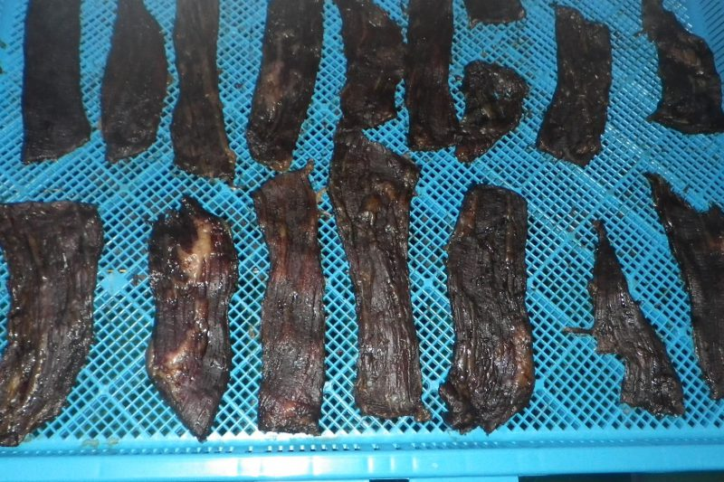 乾燥後 肉