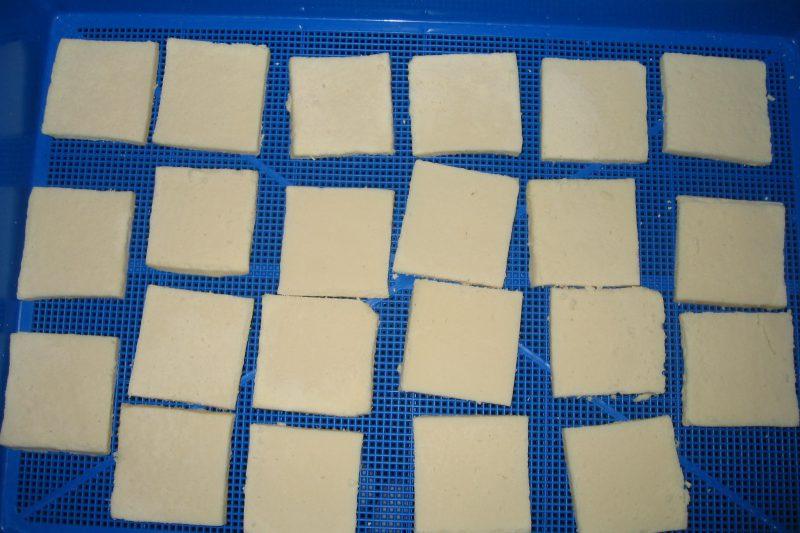 乾燥前 凍み豆腐
