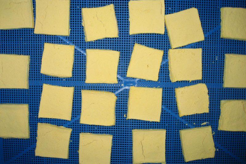 乾燥後 凍み豆腐