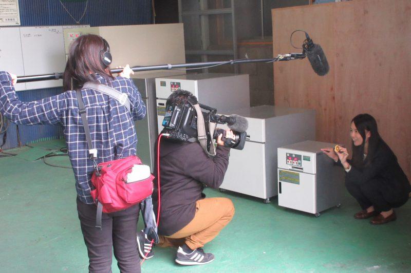 NHKの夕方ニュースで弊社の電気乾燥機が紹介されました!